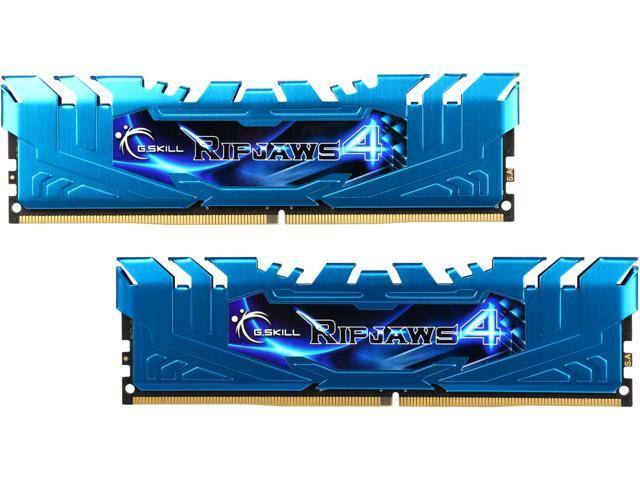 16GB (2x 8) G.Skil Ripjaws 4 DDR4 3000 Desktop RAM F4-3000C15D-16GRBB $160 @Newegg