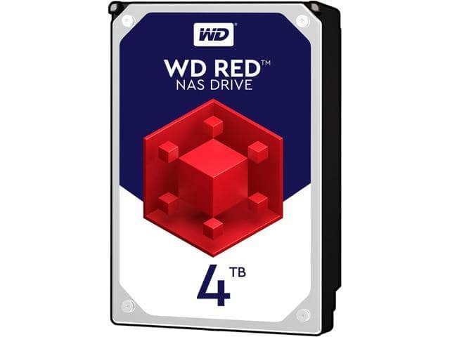 4TB WD Red NAS Hard Drive $120 AC @Newegg