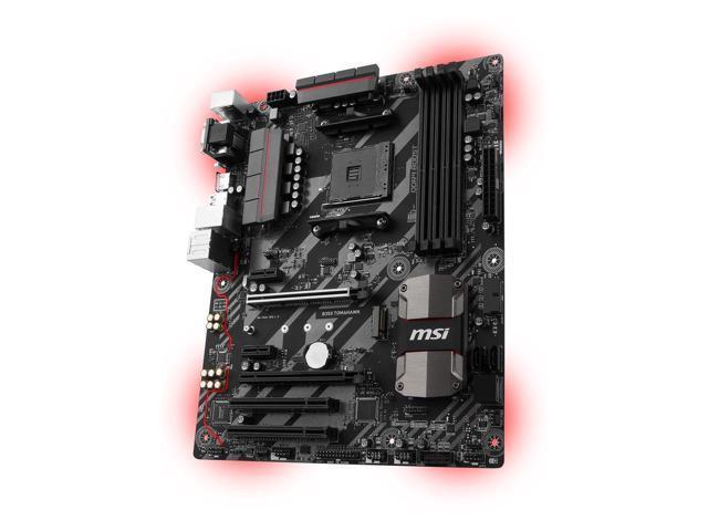 MSI B350 Tomahawk Plus AM4 Motherboard $45 AR @Newegg