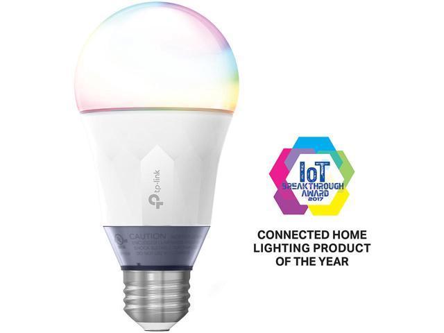 TP-LINK LB130 Smart Wi-Fi LED Bulb w/Color 60W Eq (2500-9000K) Alexa/Google Home compatible $25 AC @Newegg
