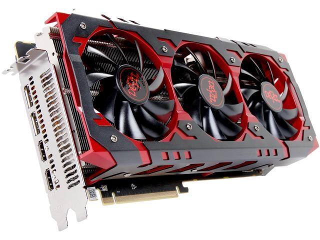 PowerColor RED DEVIL Radeon RX Vega 56  8GBHBM2-2D2H/OC 8GB Video Card (+ Far Cry 5) $510 AR @Newegg