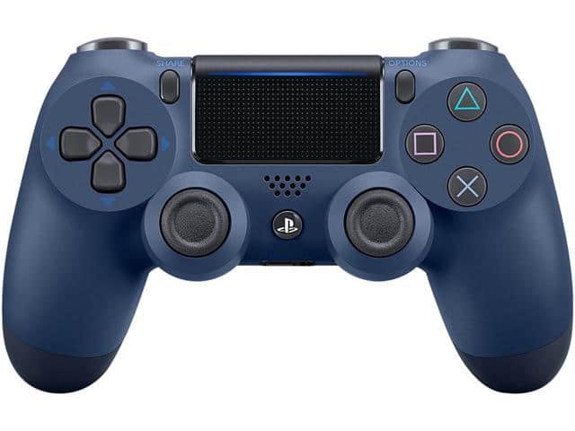 Sony DualShock 4 Wireless Controller for PlayStation 4 - Midnight Blue and other colors $40 w/FS @Newegg