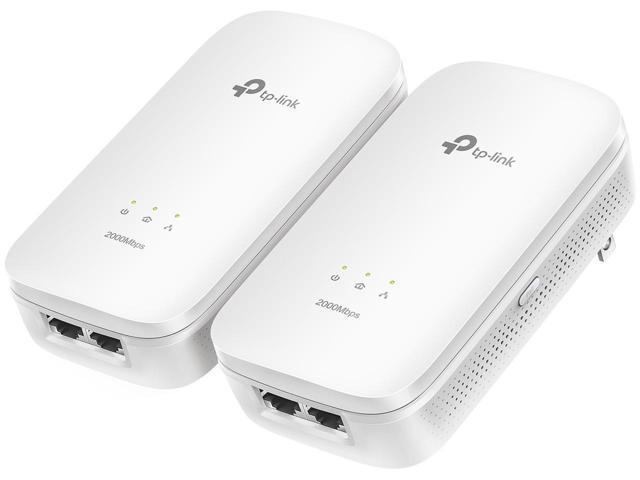 TP-LINK TL-PA9020 KIT AV2000 2-port Gigabit Powerline Starter Kit $60 AC @Newegg