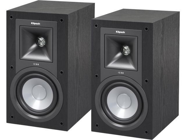 "Klipsch Icon KB-15 5.25"" 2-way Bookshelf Speaker (Pair) $90 AC@Newegg"