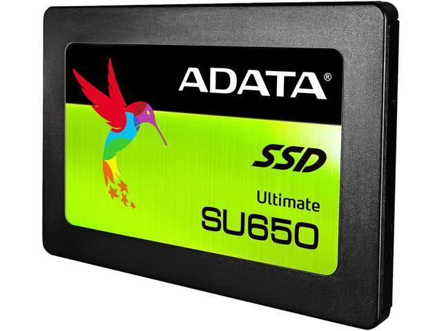 "240GB ADATA Ultimate SU650 3D 2.5"" SSD $52 @Newegg"