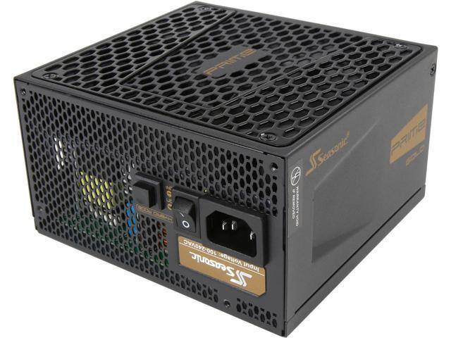 550W Seasonic PRIME Ultra 80+ Gold Power Supply, Full Modular SSR-550GD2 $70 AR @Newegg