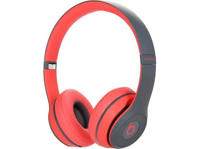 Beats Solo2 Wireless On-Ear Headphones - Red $150 AC @Newegg