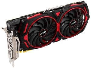 MSI Armor MK2 8GB OC GDDR5 PCi Express 3.0 Graphics Card (+ $20 Steam Code) $280 AR @Newegg