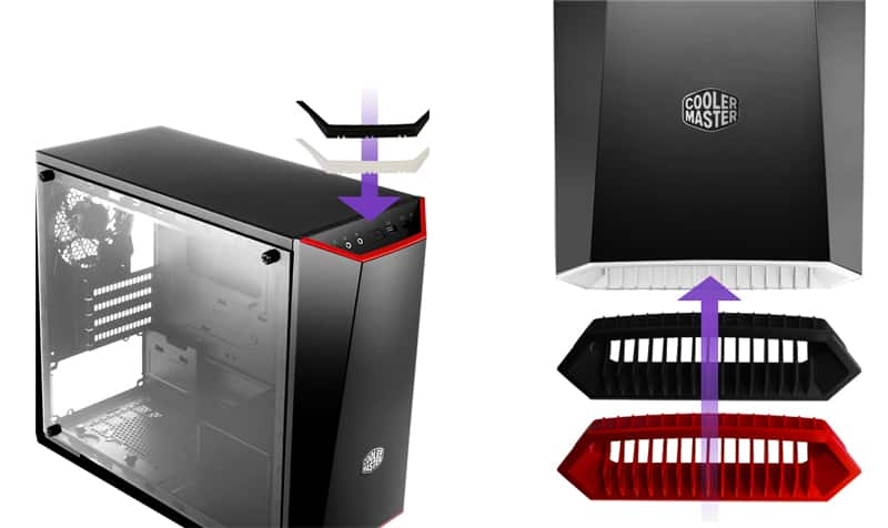 Cooler Master MasterBox Lite 3.1 mATX Case with Tempered Glass,$30 AR @Newegg