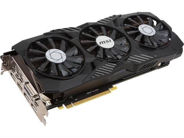 MSI GeForce GTX 1070 Ti DUKE 8GB Video Card (+$20 Steam Code) $420 AR @Newegg