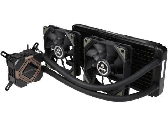Enermax Liqmax II 240 Liquid Cooler (+ 120mm TB Vegas Case Fan w/APS) $60 AR @Newegg
