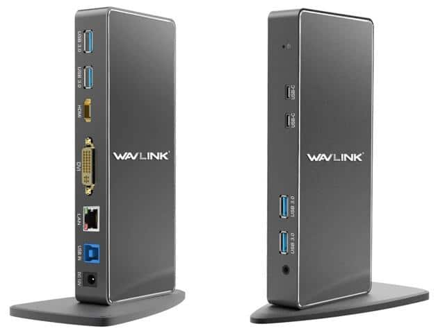 Wavlink USB 3.0 Universal Docking Station for laptop $79 @NF