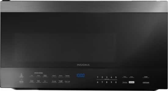 Insignia™ - 1.6 Cu. Ft. Over-the-Range Microwave - Stainless steel $130 @BestBuy