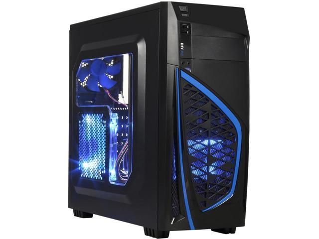 DIYPC Zondda-B Black USB 3.0 ATX Mid Tower Gaming Case (+$10 GC) $30 @Newegg