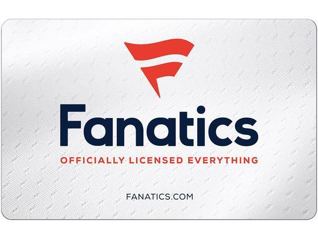 Fanatics $50 Gift Card (Email Delivery) + [$10 GC] $50 @Newegg / NF