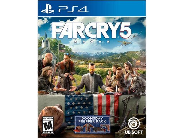 Far Cry 5 - PlayStation 4 | Xbox One $30 AC @Newegg Qanba Drone Joystick $40 AC; Attack on Titan 2 (Switch) $30 AC and more
