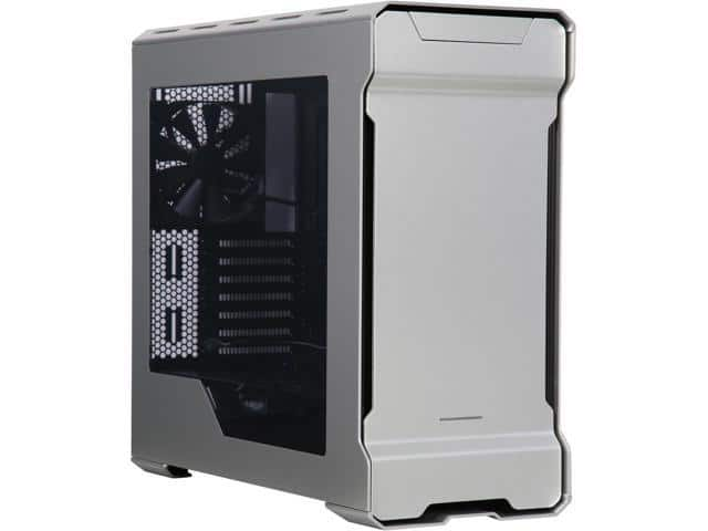 Phanteks Enthoo Evolv PH-ES515E_GS Aluminum/Steel Galaxy Silver Window Mid Tower Case $90 AR @Newegg P400 Glacier White $51 AR