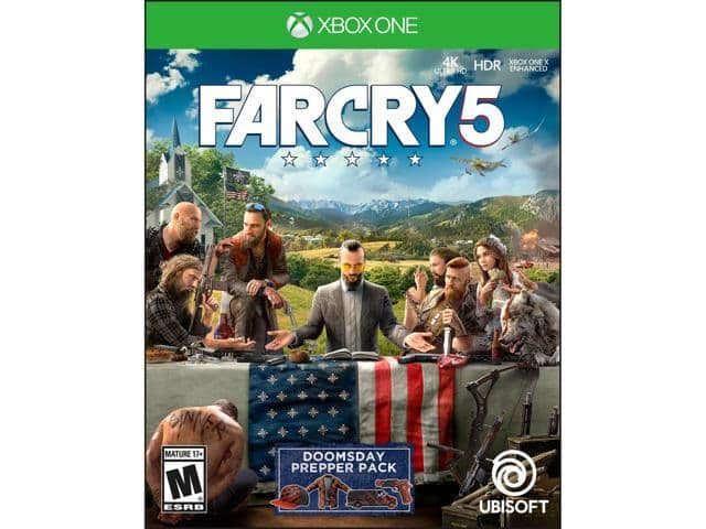 Far Cry 5 - PlayStation 4 | Xbox One $30 AC @Newegg Qanba Drone Joystick $40 AC; Attack on Titan 2 (Switch) $30 AC and more