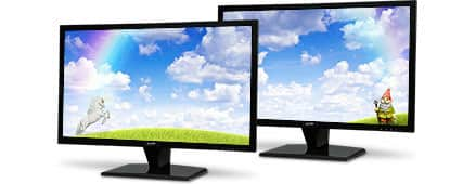 "Vizta V27Lmha1 Black 27"" 5ms HDMI Widescreen LED  Monitor $160 /2 AC @Newegg"