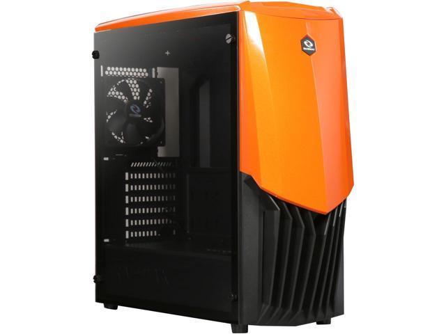 RAIDMAX Gama A18-TO Black / Orange Steel / Plastic / Tempered Glass $32.49 AR @Newegg