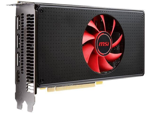 MSI Radeon RX 580 8GB Video Card (+ $20 Steam Code) $240 AR @Newegg