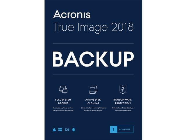 Acronis True Image 2018 - 1 Device (DVD Case) + Assassin's Creed Syndicate - PC  $10 AR @Newegg