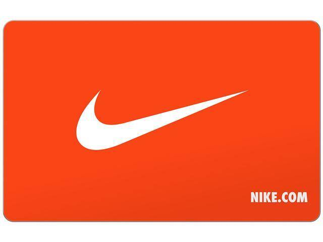 $50 (+$10) Nike Gift Card (Digital Delivery) $50 @NF and Newegg