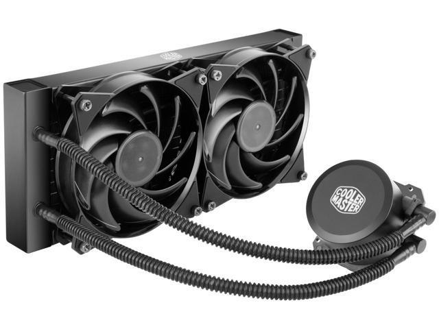 Cooler Master MasterLiquid Lite 240 All-In-One CPU Liquid Cooler $45 w/FS @Newegg