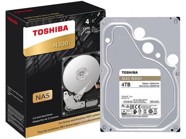 Toshiba N300 4TB High Reliability NAS Hard Drive $99 AC@Newegg