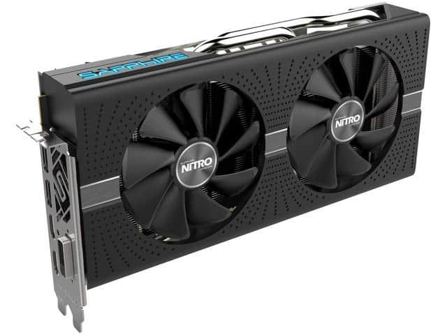 Sapphire Radeon NITRO+ RX 580 8GB GDDR5 Video Card (+AMD Gift bundle) $250 @Newegg