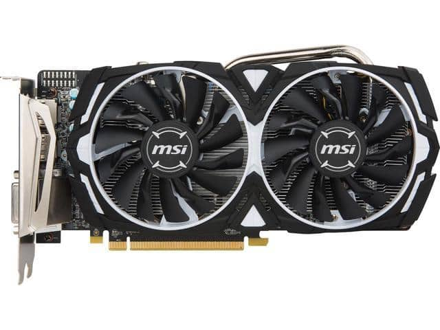 MSI Radeon Armor OC RX 570 8GB Video Card + (AMD Game Bundle) $235 AR @Newegg (210 w/MPCO)