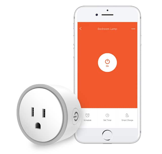 Eques Elf Wi-Fi Enabled Smart Plug w/ Charging Protection, Works with Amazon Echo & Google Home - $16 @NF