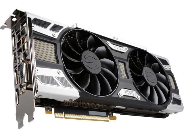 EVGA GeForce GTX 1070 SC2 Gaming iCX Video Card $400 @Newegg $375 w/MPCO