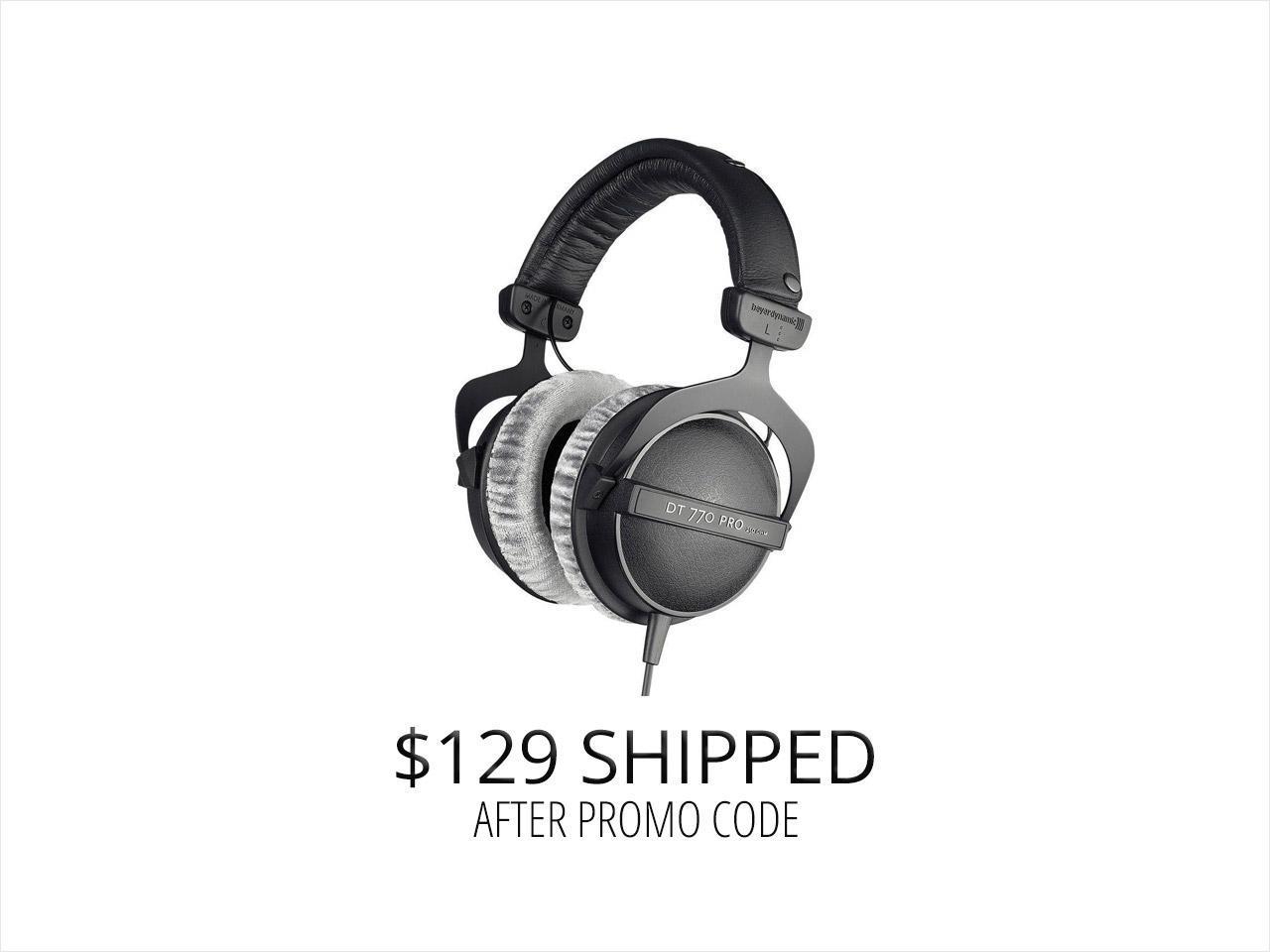 Beyerdynamic DT-770 Pro 250 Ω,Headphones $129 AC @NF