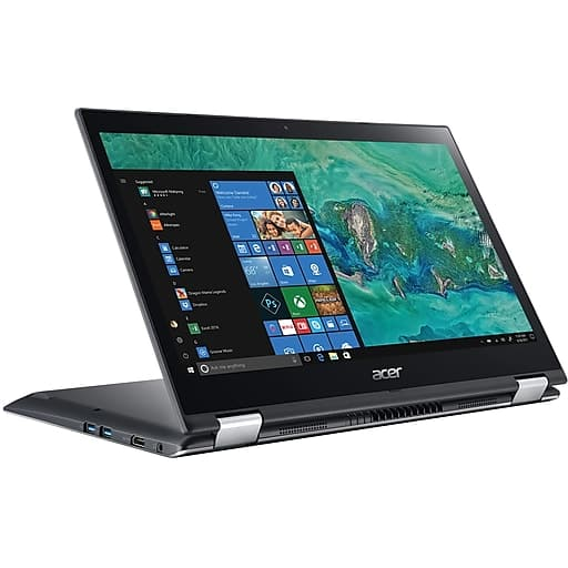 "Acer Spin 3 2-in-1 Laptop: Intel Core i3-8130U, 14"" 1080p IPS Touchscreen, 8GB DDR4, 256GB SSD, Win 10 $470 @Staples"