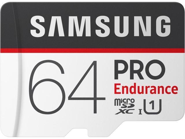 64GB Samsung Pro Endurance U1 microSDXC Memory Card $28 AC @Newegg