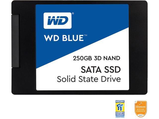 """250GB WD Blue 3D NAND 2.5"""" SSD $50 AC @Newegg"""