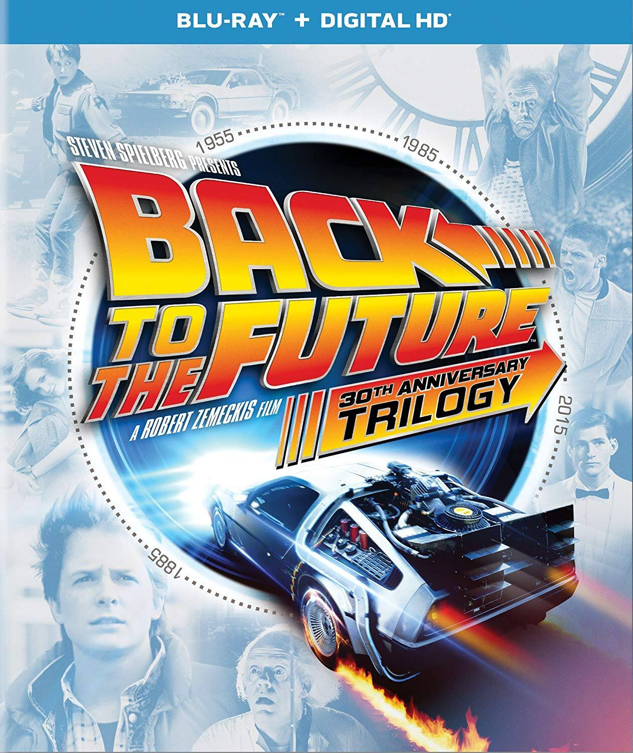 Back to the Future 30th Anniversary Trilogy $20 @Amazon