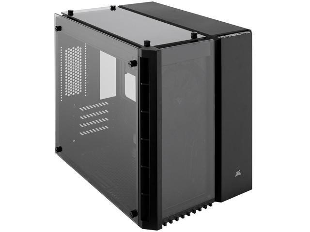 Corsair Crystal 280X Black Tempered Glass Micro ATX Case $60 AR @Newegg