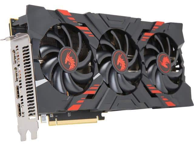 PowerColor RED DRAGON Radeon RX Vega 56  Video Card (+AMD game bundle) $330 @Newegg