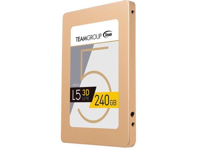 "240GB Team Group L5 LITE 3D 2.5"" SSD $30 AC (targeted) @Newegg"
