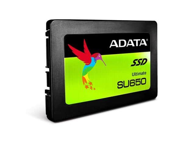 "ADATA SU650 480GB 3D-NAND 2.5"" SSD $55 AC @Newegg (also $120/2)"