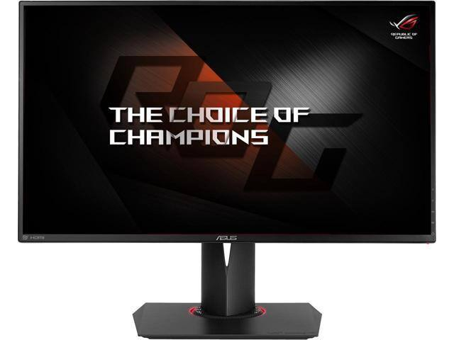 "ASUS ROG Swift PG278QR Black 27"" 1ms (GTG) 165Hz WQHD LED Monitor + 256GB Intel SSD + COD: Black Ops 4 Code $500 AC @Newegg"