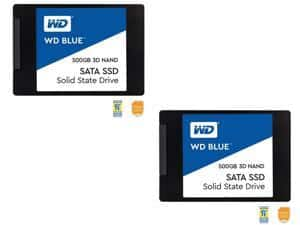 "500GB WD Blue 3D NAND 2.5"" SSD $144 /2 AC @Newegg"