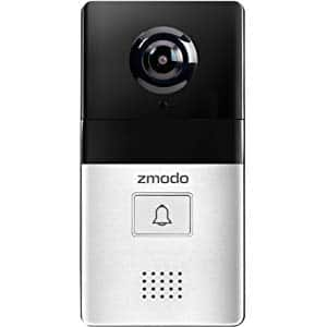 Zmodo Greet Select WiFi Video Doorbell, 1080p Full HD Camera $70