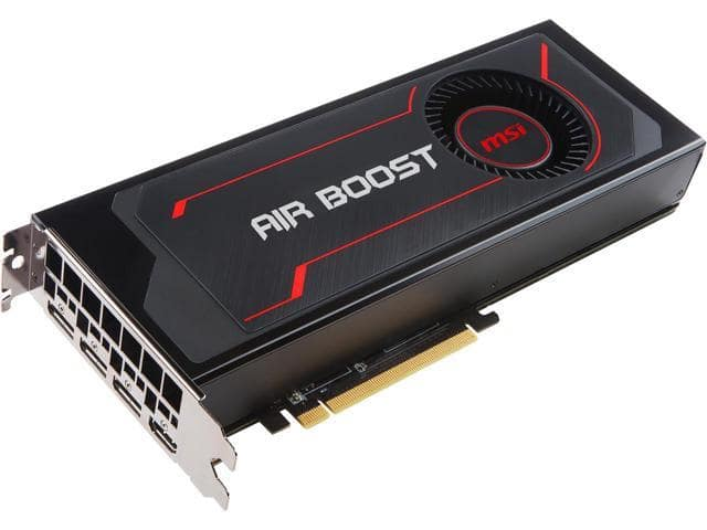 MSI Radeon RX Vega 64 Air Boost Video Card + 3 games $400 AR @Newegg