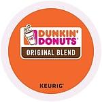 Dunkin' Donuts® Original Coffee, Keurig® K-Cup® Pods, Medium Roast 96-ct $43.49 @Staples Green Mtn, Breakfast Blend $42.49;  Pumpkin Spice 24-ct/$11