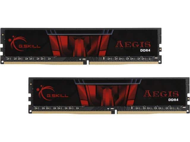 G.SKILL Aegis 16GB (2x 8) DDR4 3000 Desktop RAM Kit $90 AC @Newegg