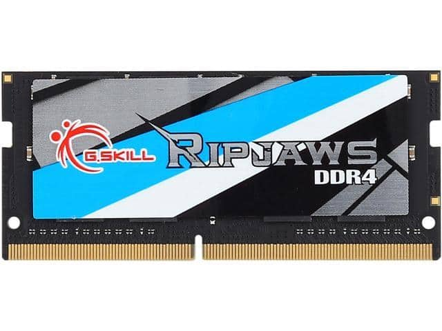 8GB G.Skill Ripjaws DDR4 2133 SO-DIMM Laptop Memory Stick $45 @Newegg 1/12 only