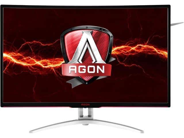 "AOC AGON AG322QCX 31.5"" Curved Gaming Monitor, 1800R QHD VA 144Hz Monitor $350 @Newegg"